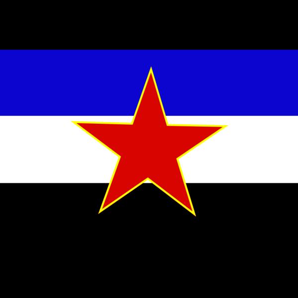 Flag Of Yugoslavia Historic PNG Clip art