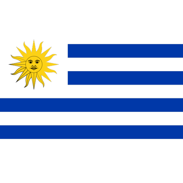 Flag Of Uruguay PNG Clip art