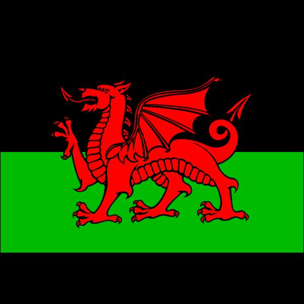 Flag Wales PNG Clip art