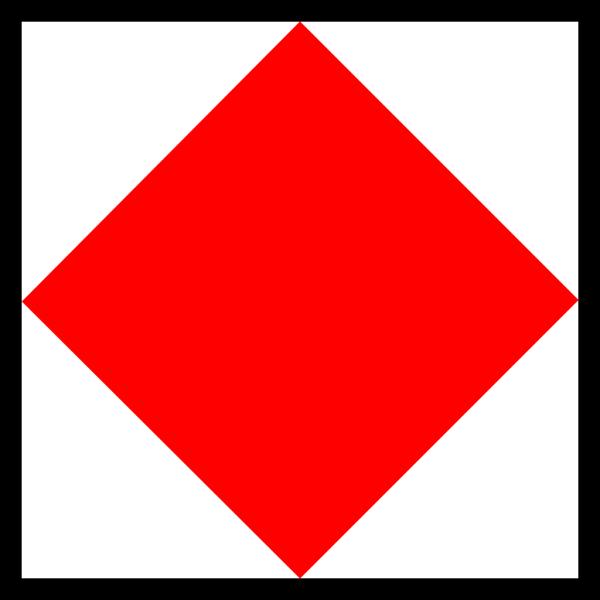 Signal Flag Foxtrot PNG Clip art