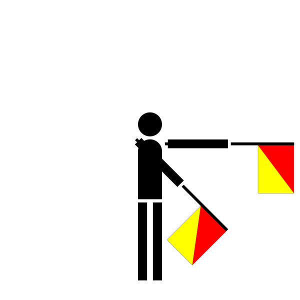 Semaphore Zulu PNG Clip art