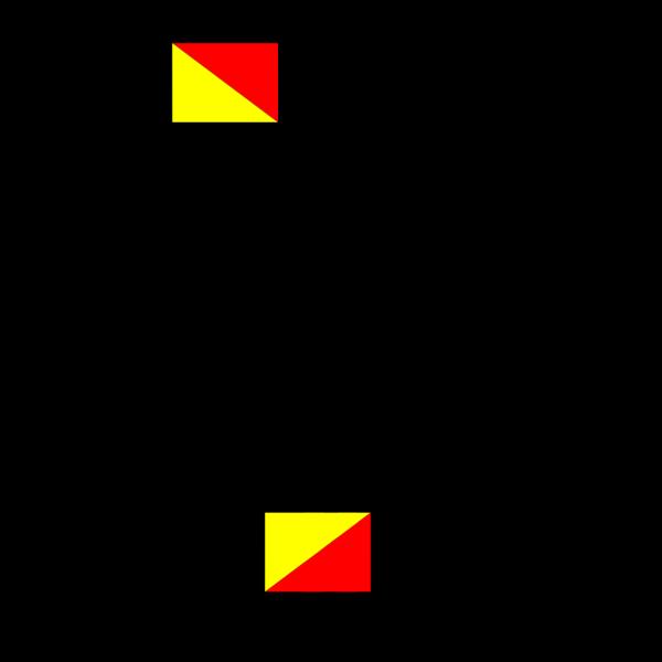 Semaphore Delta PNG Clip art