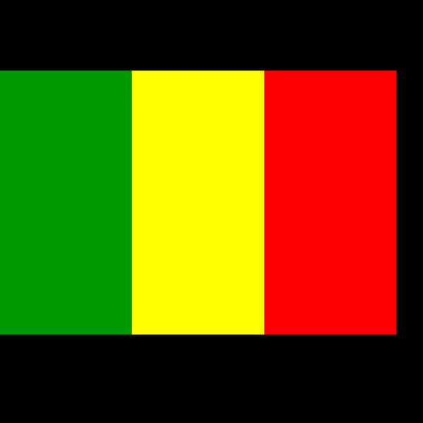 Mali Flag PNG Clip art