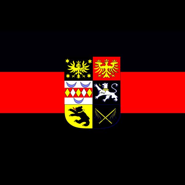 East Frisia Flag PNG Clip art