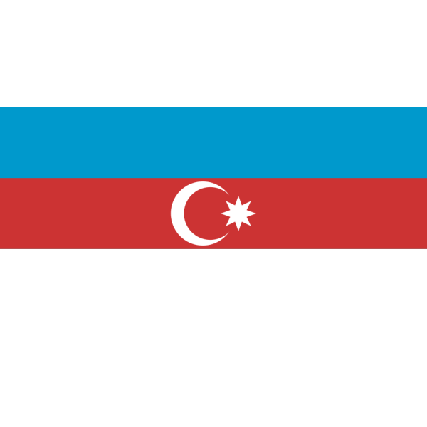 Flag Of Azerbaijan  PNG Clip art
