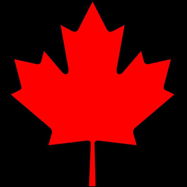 Flag Of Canada Leaf PNG Clip art