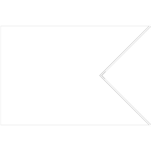 Flag Shape Swallowtail PNG Clip art