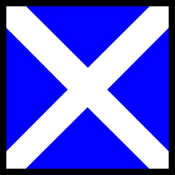 Maritime Signal Flag Mike PNG Clip art