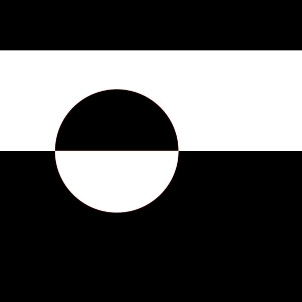 Proposed Flag Of Greenland Sven Tito Achen Design PNG Clip art