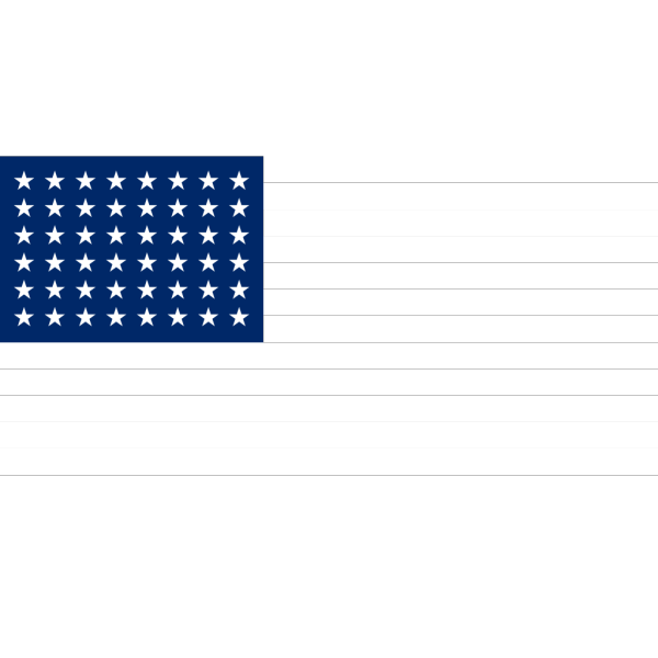Us Flag Stars PNG Clip art