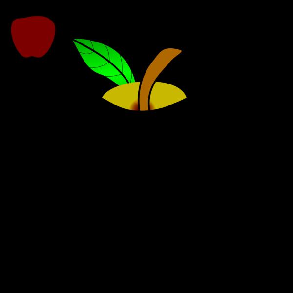 Black Apple PNG Clip art