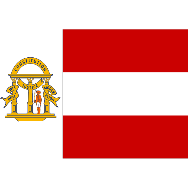 Flag Of The State Of Georgia Coat PNG Clip art