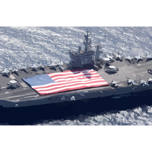 Uss Nimitz (cvn 68) And Carrier Air Wing Eleven (cvw-11) Personnel Participate In A Flag Unfurling Rehearsal PNG Clip art