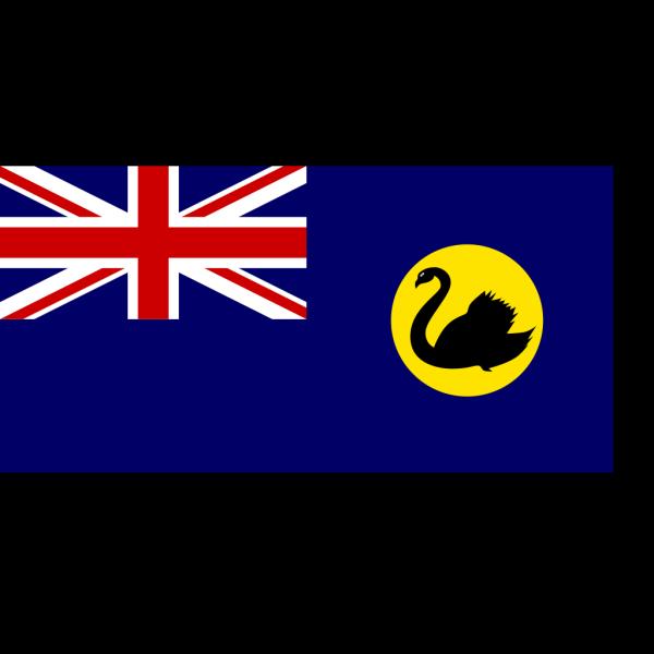 Flag Of Western Australia PNG Clip art