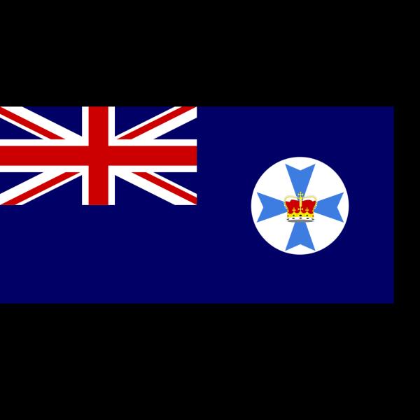 Flag Of Queensland Australia PNG Clip art