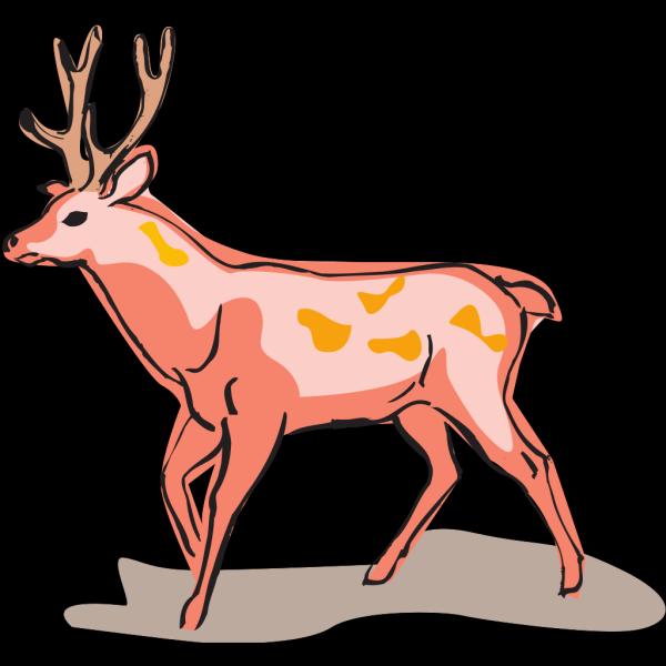 Red Deer PNG Clip art