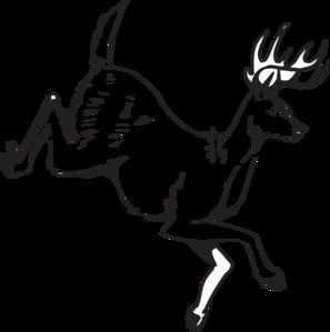Deer Jumping PNG Clip art