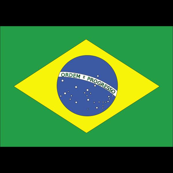 Flag Of Brazil PNG Clip art