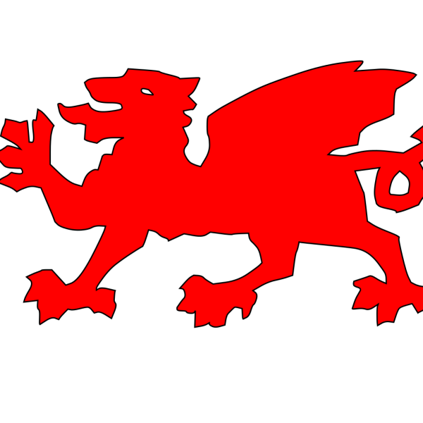 Welsh Dragon Red PNG Clip art