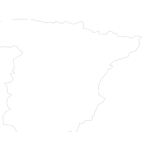 Spain Map And Flag PNG Clip art