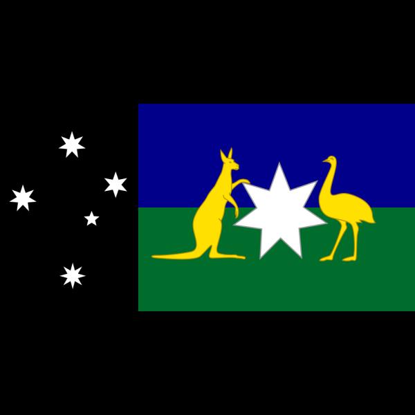 Alternate Australian Flag PNG Clip art