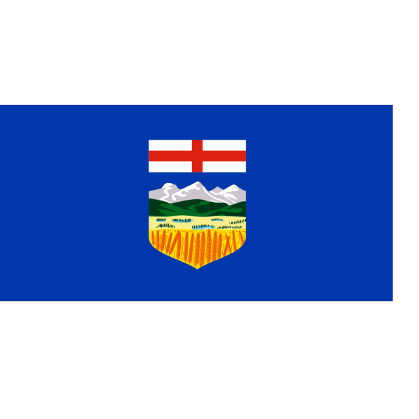 Flag Of Alberta Alternate Version PNG Clip art