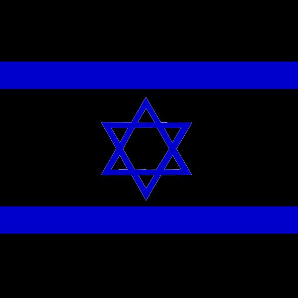 Flag Of Israel PNG Clip art