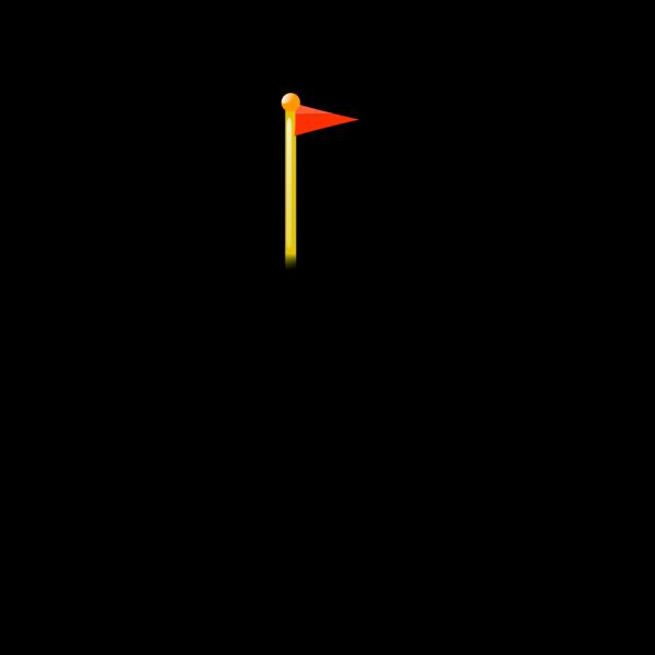 New Golf Flag PNG Clip art