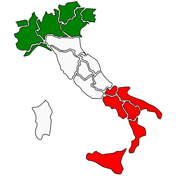 Map Of Italy PNG Clip art