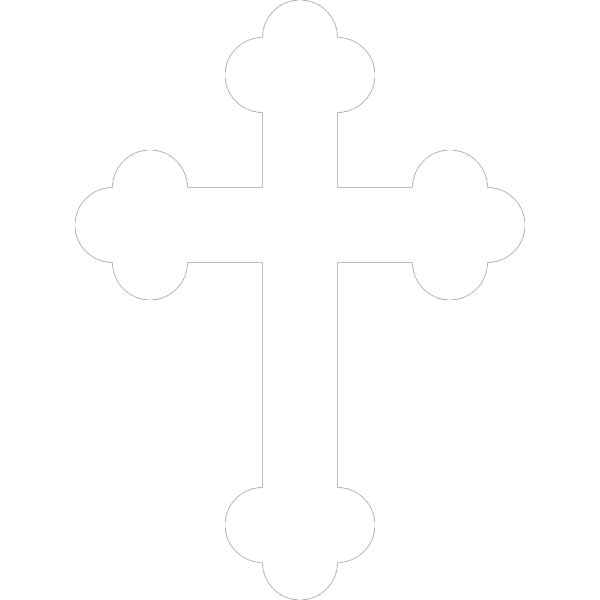 White Cross From Swiss Flag PNG Clip art