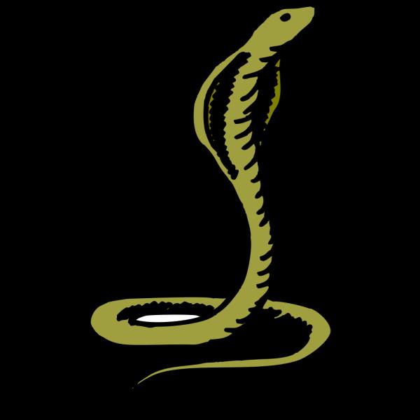 Green Cobra PNG Clip art