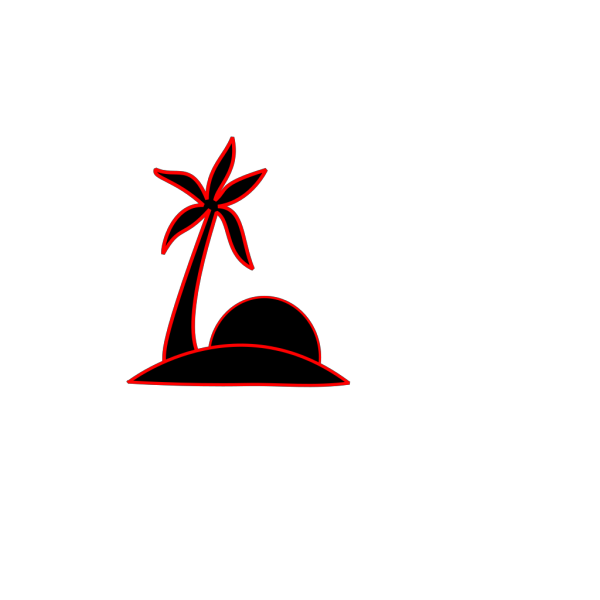 Red Rag Flag PNG Clip art