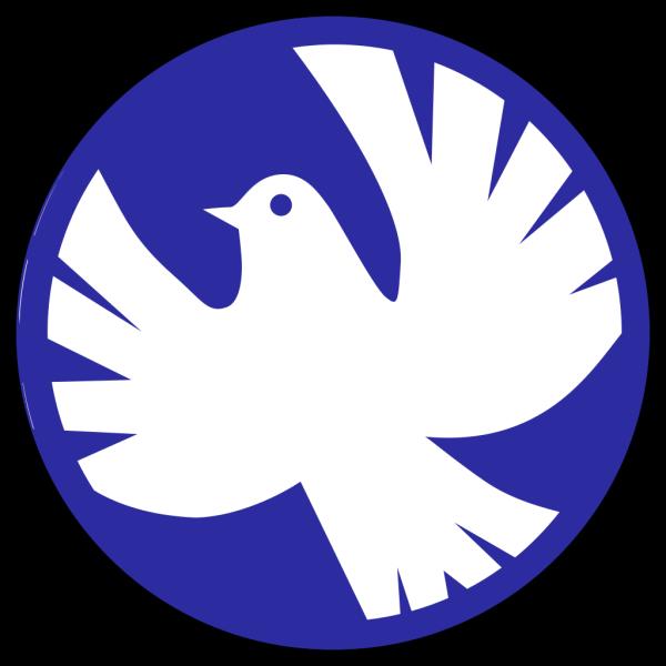 Rainbow Peace Dove PNG Clip art