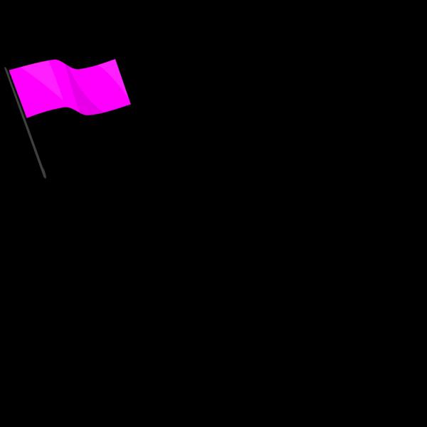 Pink Flag PNG Clip art