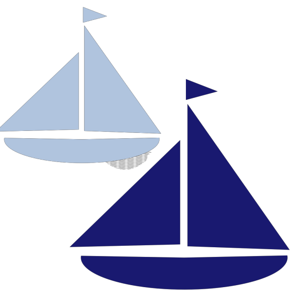 Sailboat Silhouette PNG Clip art