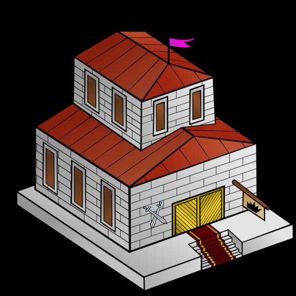 Rpg Map Townhall Symbol PNG Clip art