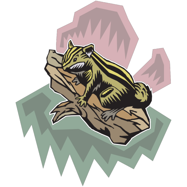 Stylized Chipmunk PNG images