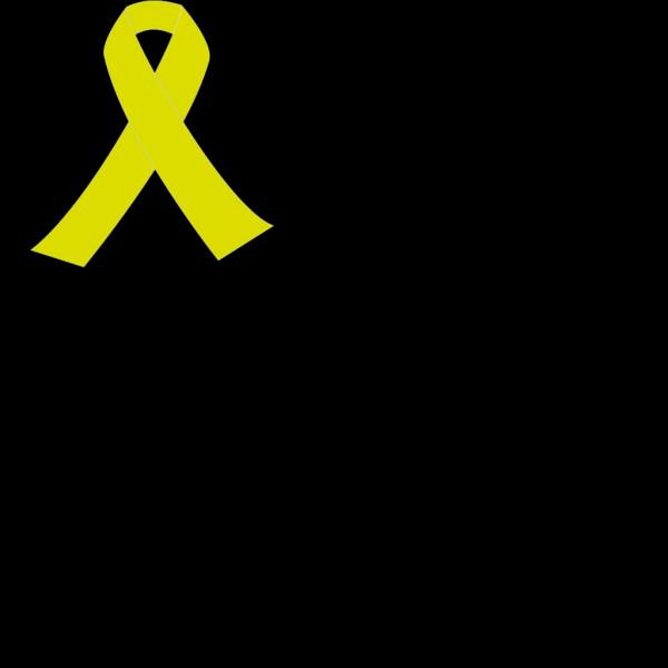 Yellow Ribbon Banner PNG Clip art