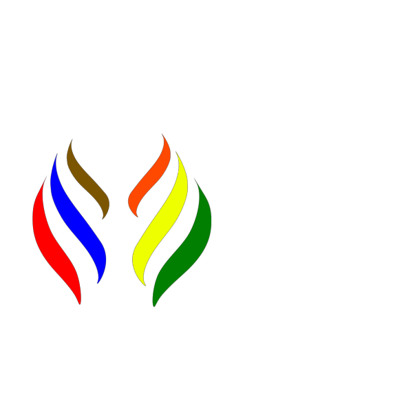 R&o&b  Flame Logo PNG Clip art