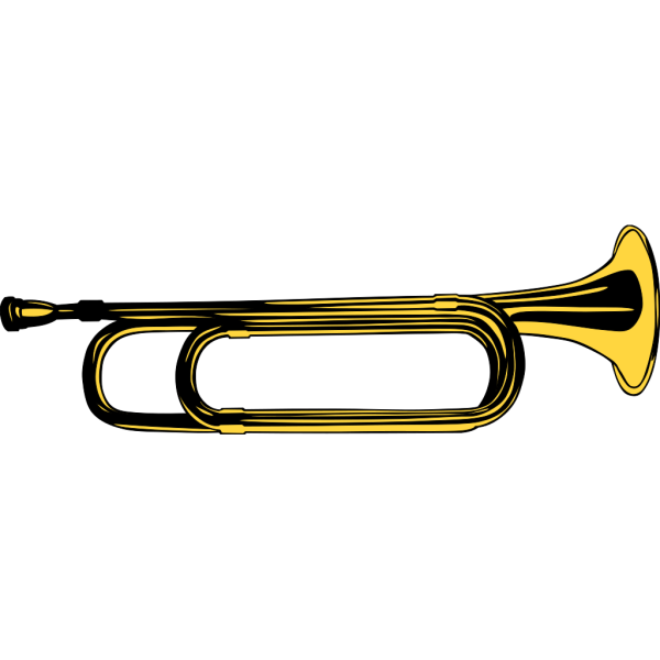 Man Playing Bugle PNG images