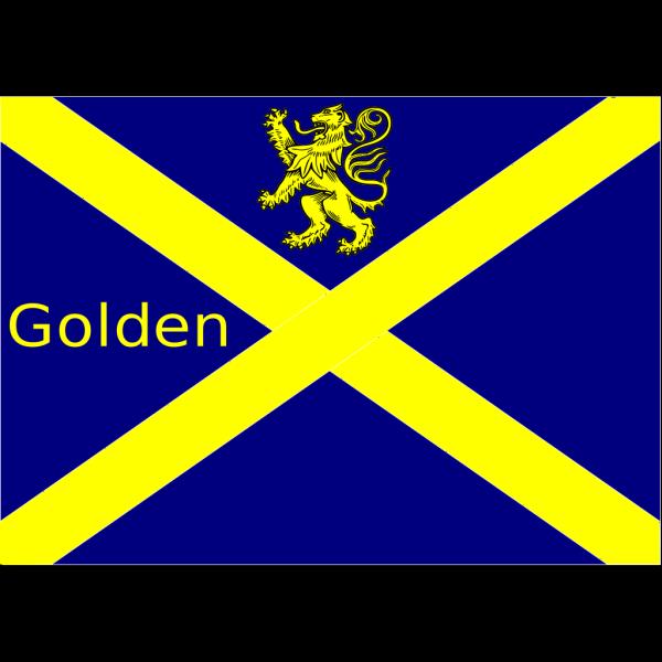Golden Cross Tartan Army PNG Clip art