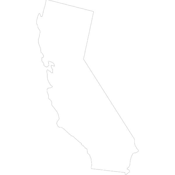 Black And White California Flag PNG Clip art