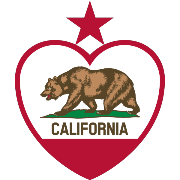 California Heart PNG Clip art