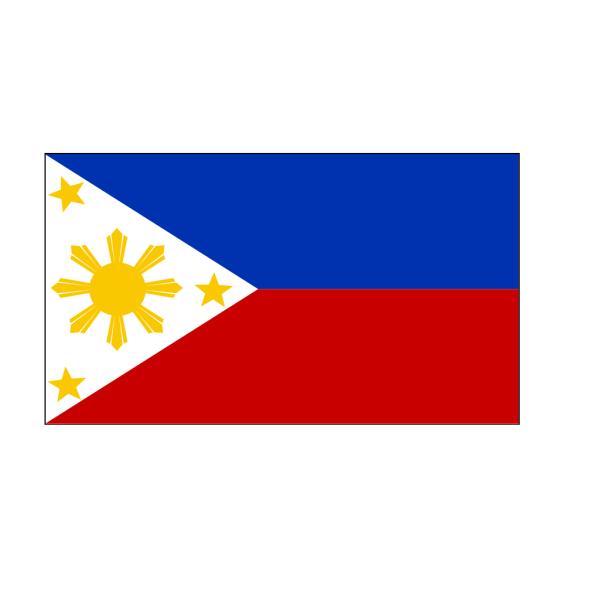 Philippine Flag Vector Template PNG Clip art
