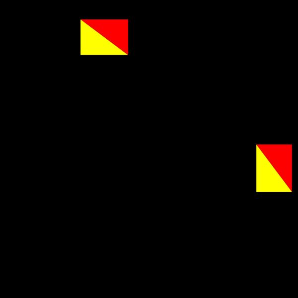 Semaphore Juliet PNG Clip art