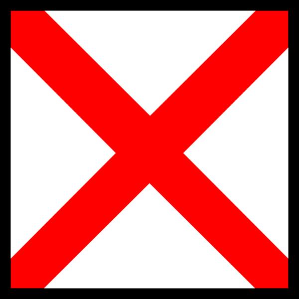 Signal Flag Victor PNG Clip art