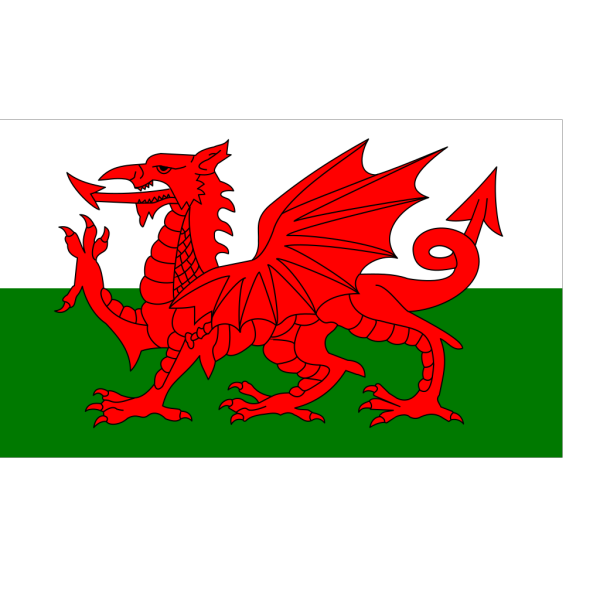 Flag Of Wales PNG Clip art