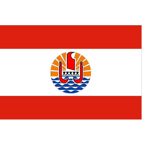 French Polynesia Flag PNG images