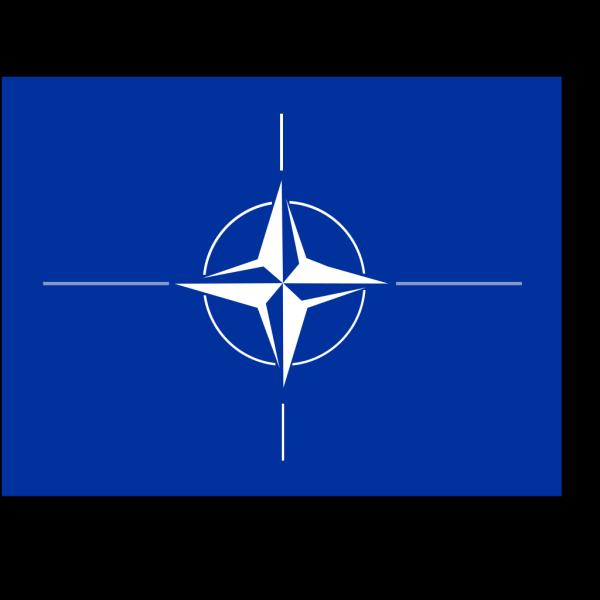Nato Flag PNG Clip art