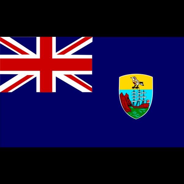 Saint Helena Flag PNG Clip art